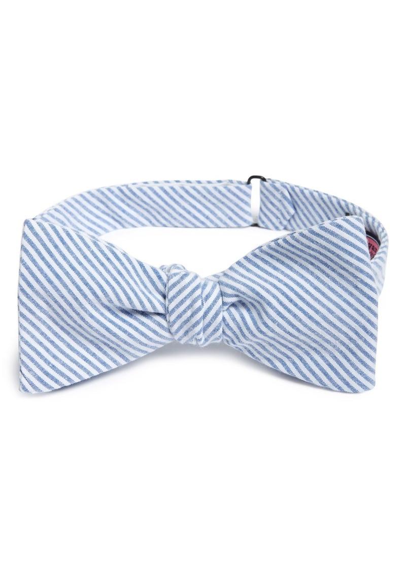 Vineyard Vines 'Fineline' Seersucker Bow Tie