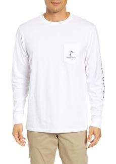 vineyard vines First Chair Last Call Long Sleeve Pocket T-Shirt