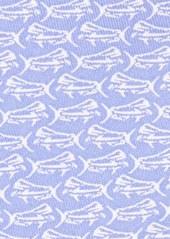 Vineyard Vines Fish Print Silk Tie