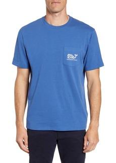 vineyard vines Fish Stamp Graphic Pocket T-Shirt