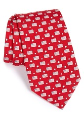 vineyard vines Flag Print Tie