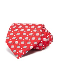 Vineyard Vines Flags and Stars Wide Tie