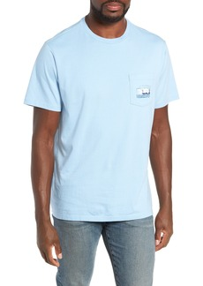 vineyard vines Flats Fishing Pocket T-Shirt