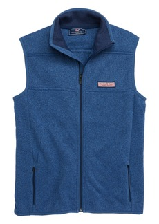 vineyard vines Fleece Sweater Vest (Big Boys)