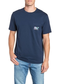 vineyard vines Flowers in Paradise Pocket T-Shirt