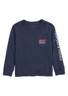 vineyard vines Football Whale T-Shirt (Toddler Boys & Little Boys)