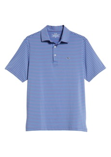 vineyard vines Four Color Feeder Stripe Polo
