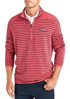 Vineyard Vines Garment-Dyed Pique Shoulder Sweatshirt