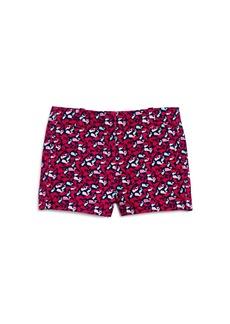 Vineyard Vines Girls' Cotton Whale-Print Shorts - Little Kid
