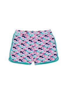 Vineyard Vines Girls' Whale-Print Shorts - Big Kid, Little Kid