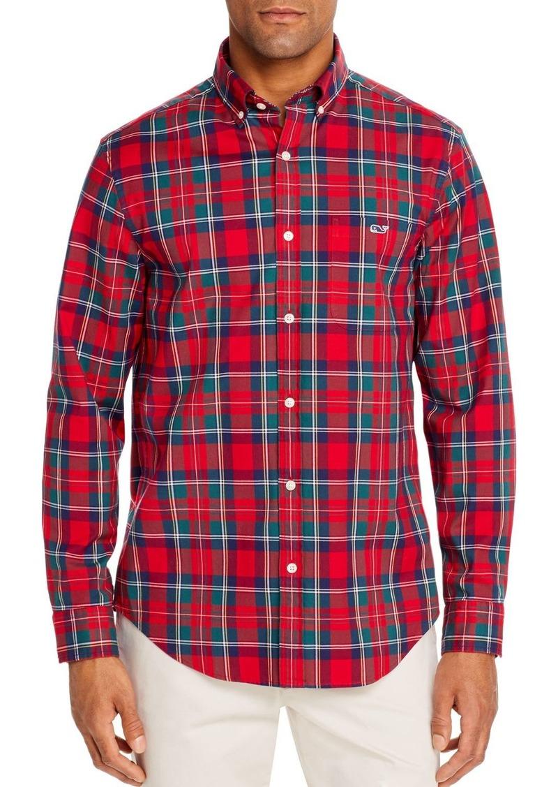 Vineyard Vines Glades Flannel Classic Fit Button-Down Shirt