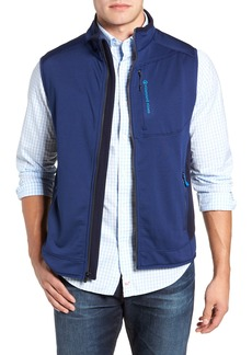 vineyard vines Grid Ripstop Fleece Vest