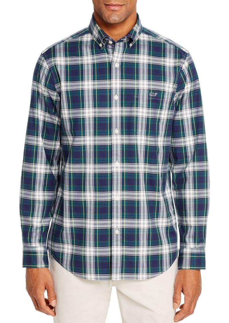 Vineyard Vines Grove Isle Flannel Classic Fit Button-Down Shirt