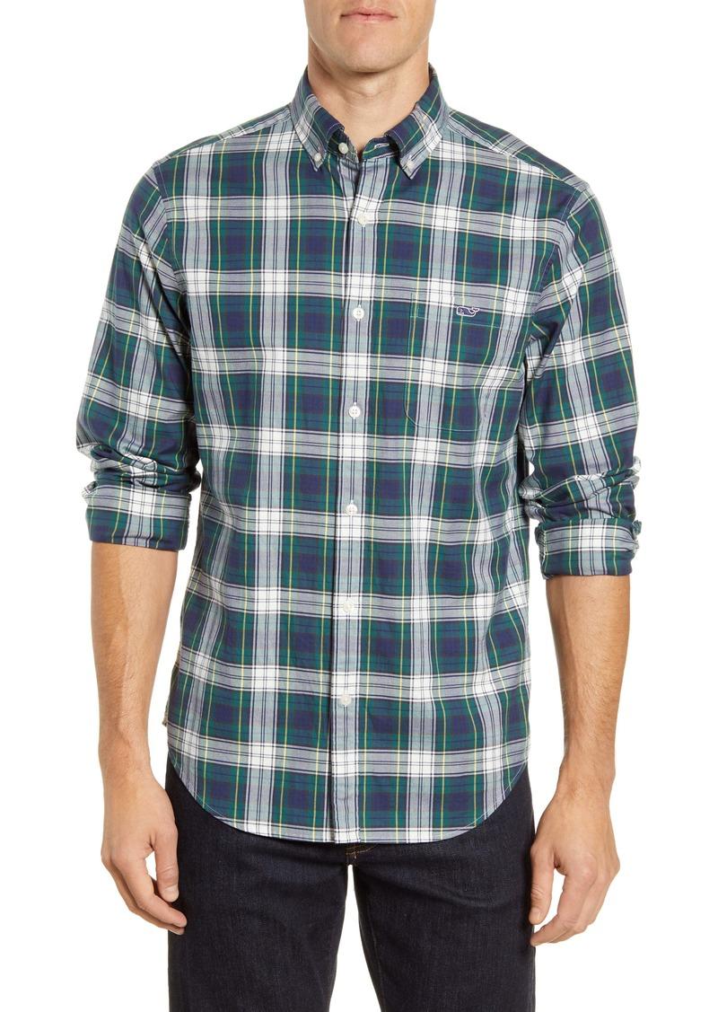 vineyard vines Grove Isle Tucker Classic Fit Button-Up Shirt