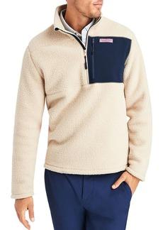 Vineyard Vines Half-Zip Fleece Jacket