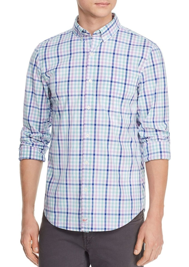 Vineyard Vines Hawksbill Tattrsll Plaid Slim Fit Button-Down Shirt