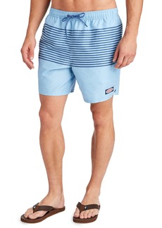 vineyard vines Heathered Stripe Chappy Swim Trunks