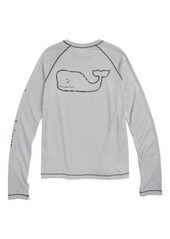 Vineyard Vines Heathered Vintage Whale T-Shirt (Big Boys)