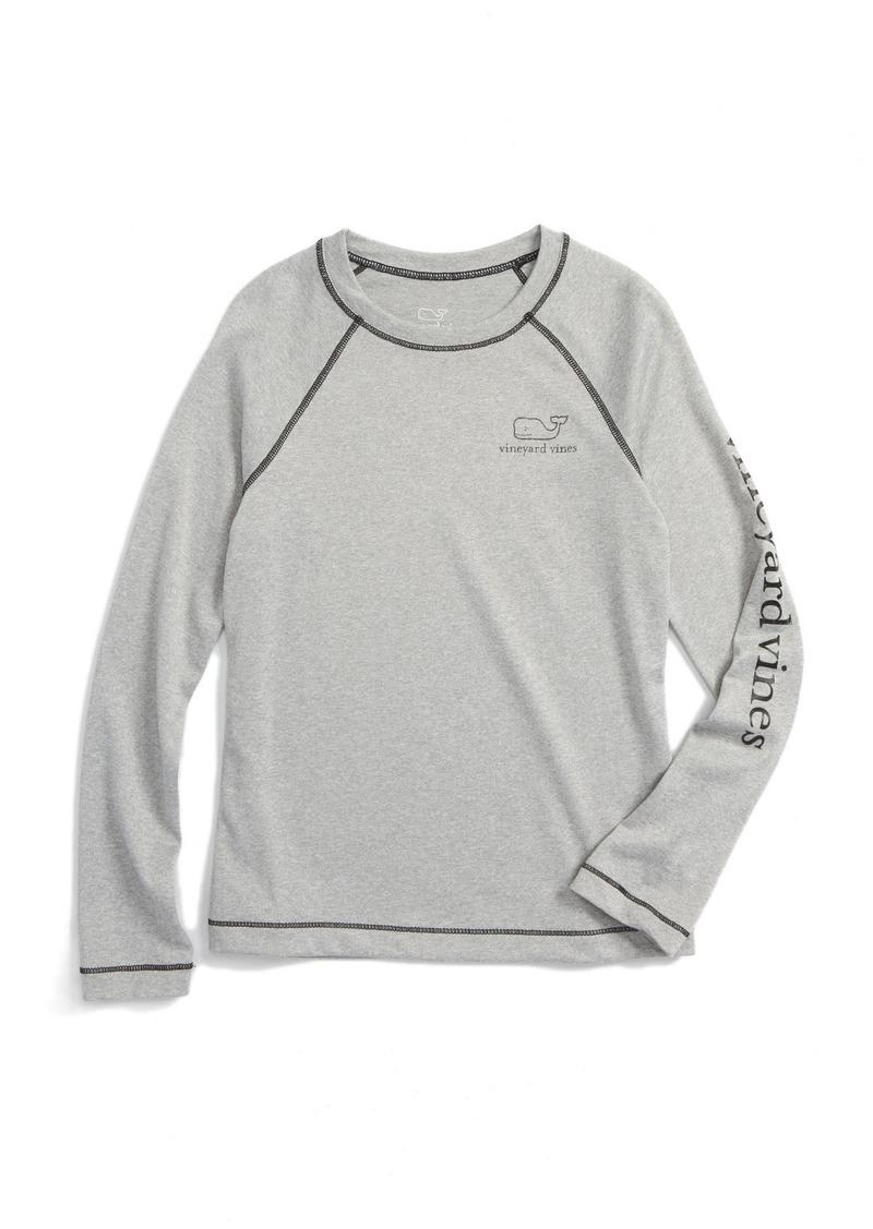 Vineyard Vines Heathered Vintage Whale T-Shirt (Toddler Boys & Little Boys)