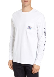 vineyard vines Hockey Whale Long Sleeve Pocket T-Shirt