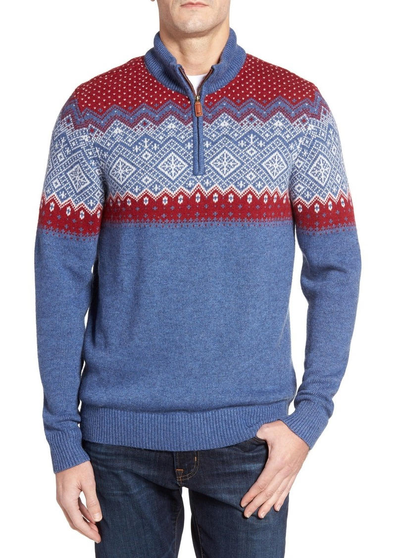 Vineyard Vines Holiday Fair Isle Sweater