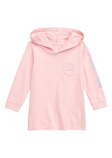 vineyard vines Hooded T-Shirt Dress (Baby)