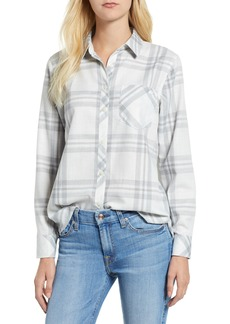 vineyard vines Ice Plaid Performance Flannel Shirt