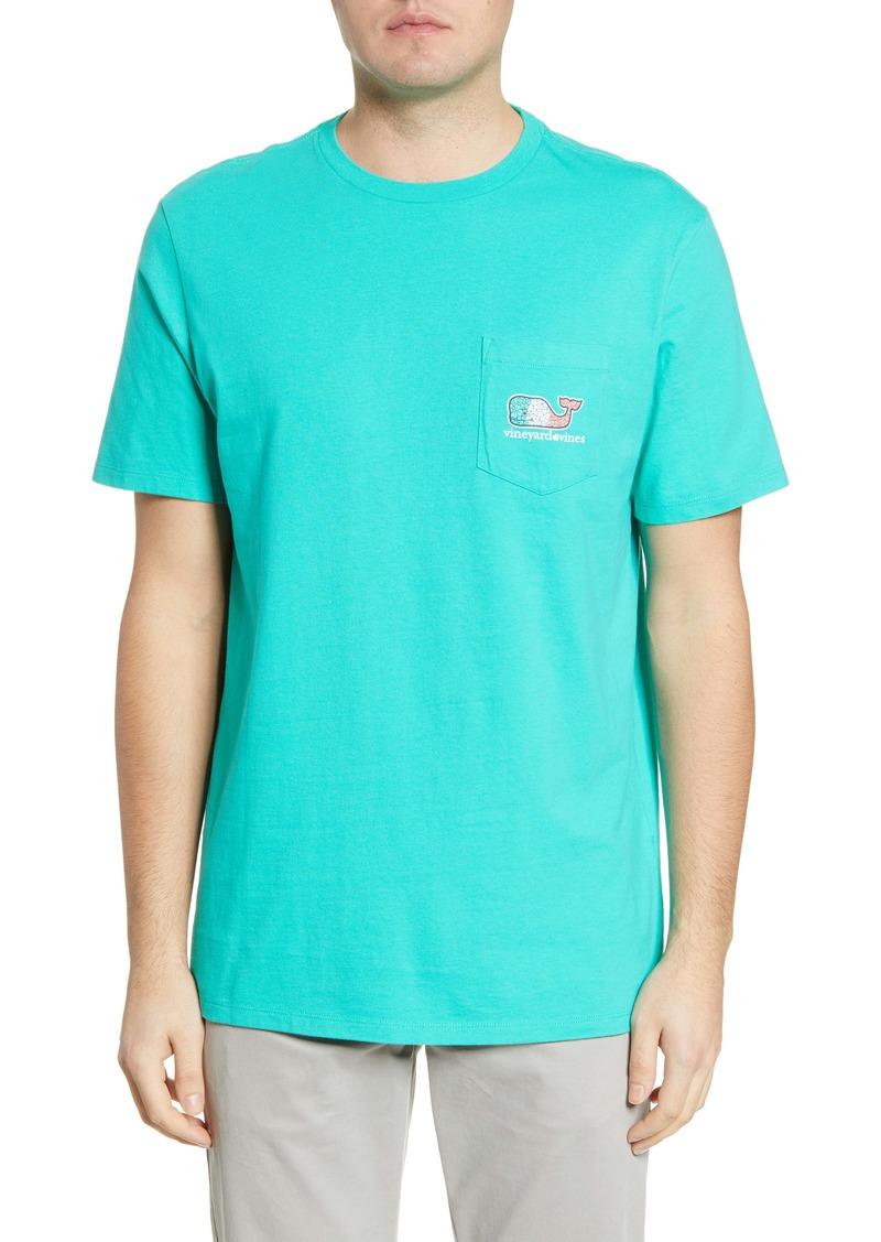 vineyard vines Irish Clover Whale Pocket T-Shirt