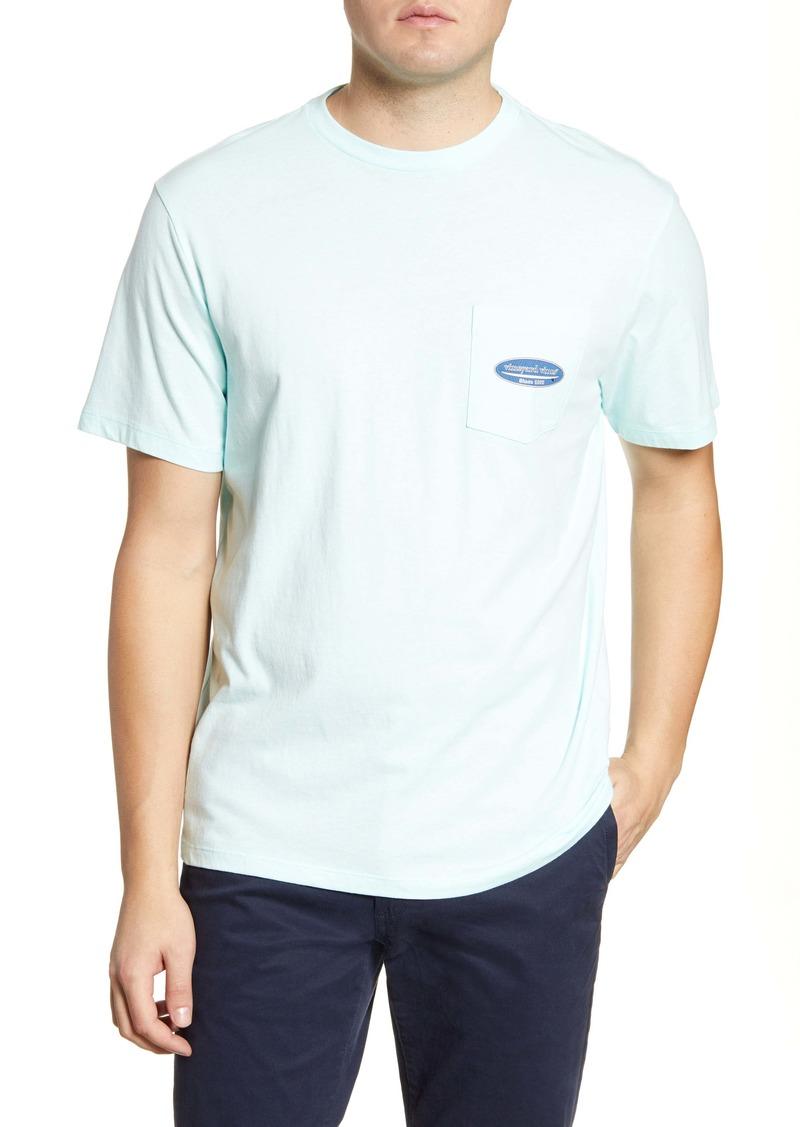 vineyard vines Island Herringbone Pocket T-Shirt