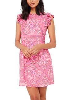 vineyard vines Island Scarf Print Dress