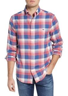 vineyard vines Ketch Tucker Classic Fit Plaid Button-Up Shirt