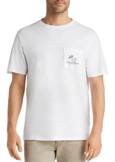 Vineyard Vines Last Call Graphic Pocket Tee