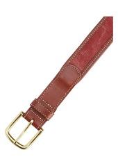 Vineyard Vines Leather & Canvas Belt