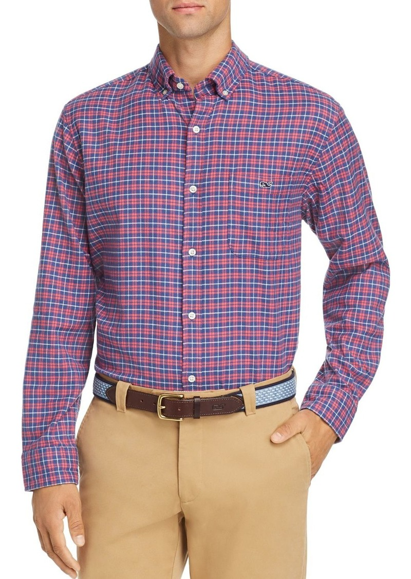 Vineyard Vines Light Post Flannel Classic Fit Button-Down Shirt