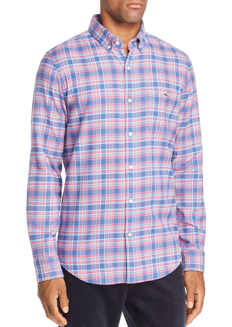 Vineyard Vines Lockwood Flannel Button-Down Shirt