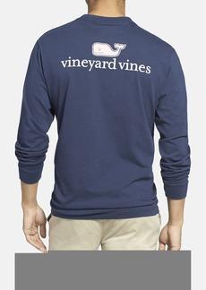 vineyard vines Logo Pocket Long Sleeve Crewneck T-Shirt