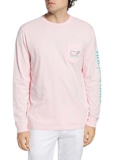vineyard vines Logo Whale Long Sleeve Pocket T-Shirt