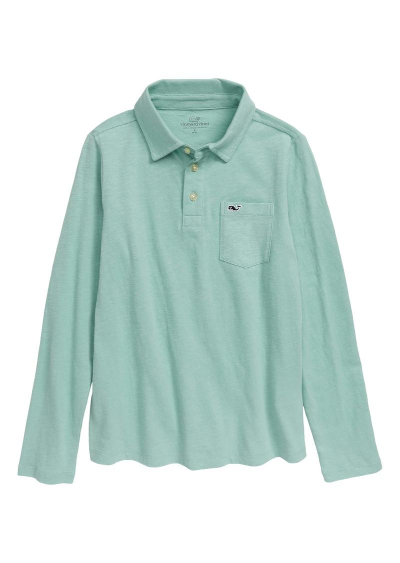 vineyard vines Long Sleeve Polo Shirt (Big Boys)