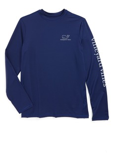 Vineyard Vines Long Sleeve Rashguard Top (Toddler Boys, Little Boys & Big Boys)