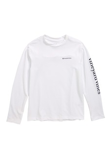vineyard vines Long Sleeve Vented Boating T-Shirt (Big Boys)