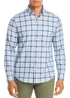 Vineyard Vines Longshore Twill Plaid Slim Fit Button-Down Shirt