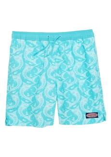 vineyard vines Marlin Out of Water Swim Trunks (Big Boys)