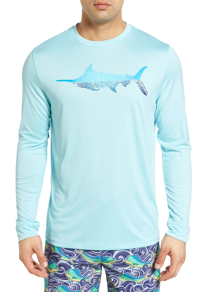 Vineyard Vines Vineyard Vines Marlin Reflection Performance T-Shirt ... 5ca3c8f9542f