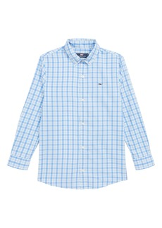 vineyard vines Mashpee Plaid Performance Sport Shirt (Big Boys)