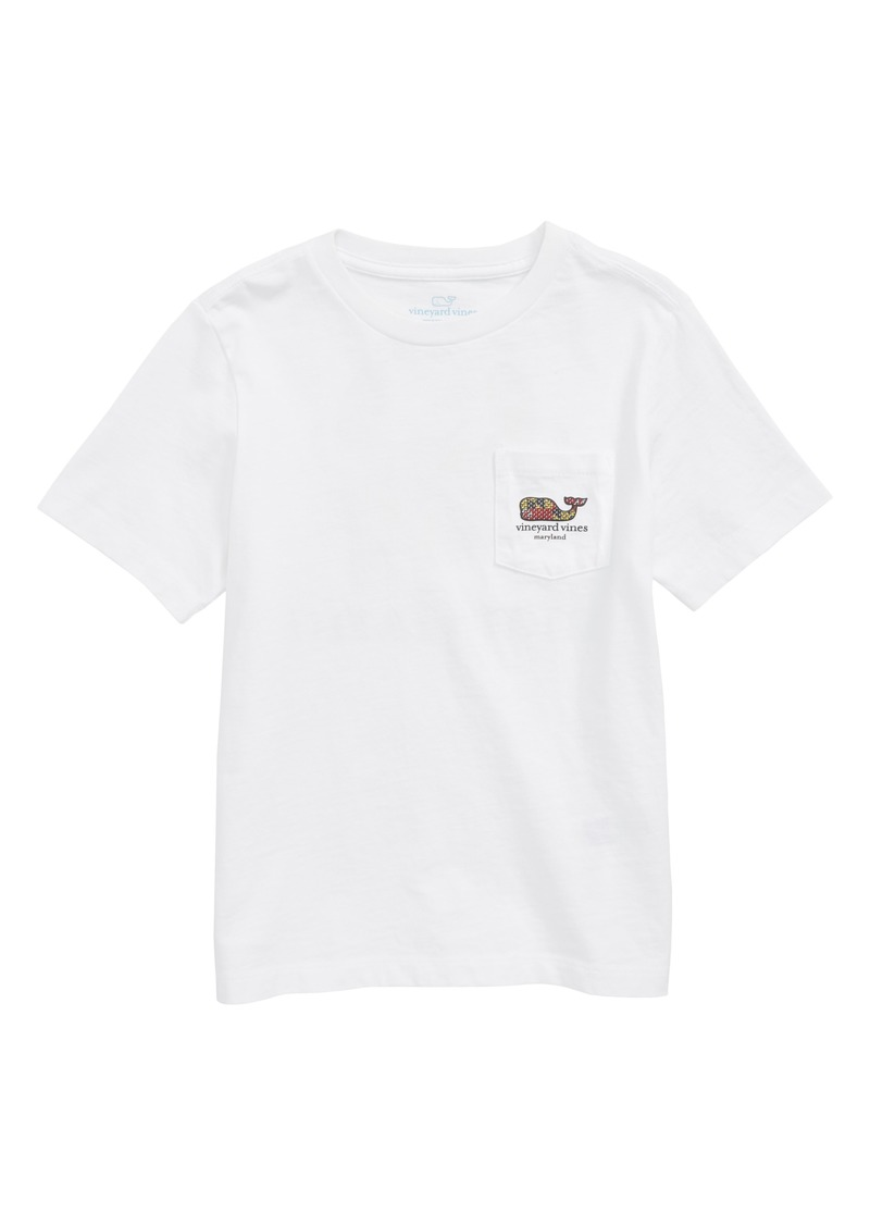 vineyard vines Maryland Crab Graphic Pocket T-Shirt (Toddler Boys, Little Boys & Big Boys)