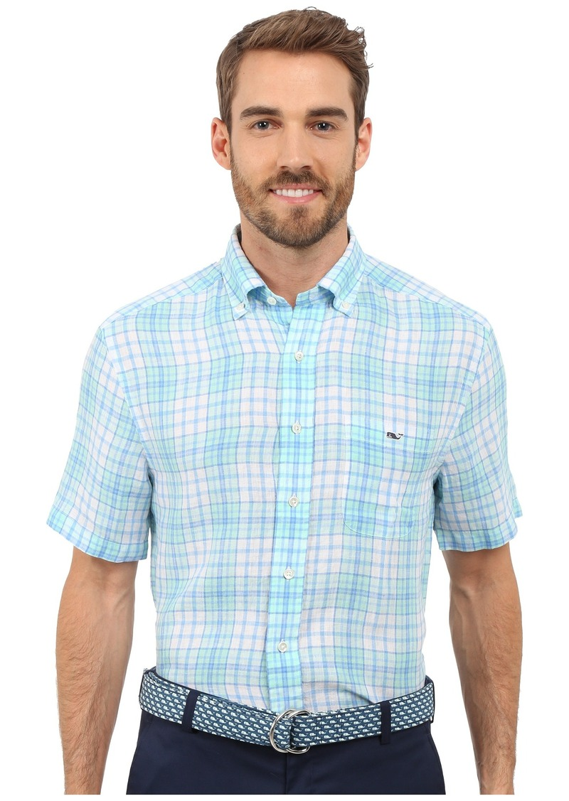 Vineyard Vines Meads Bay Classic Short Sleeve Tucker Shirt