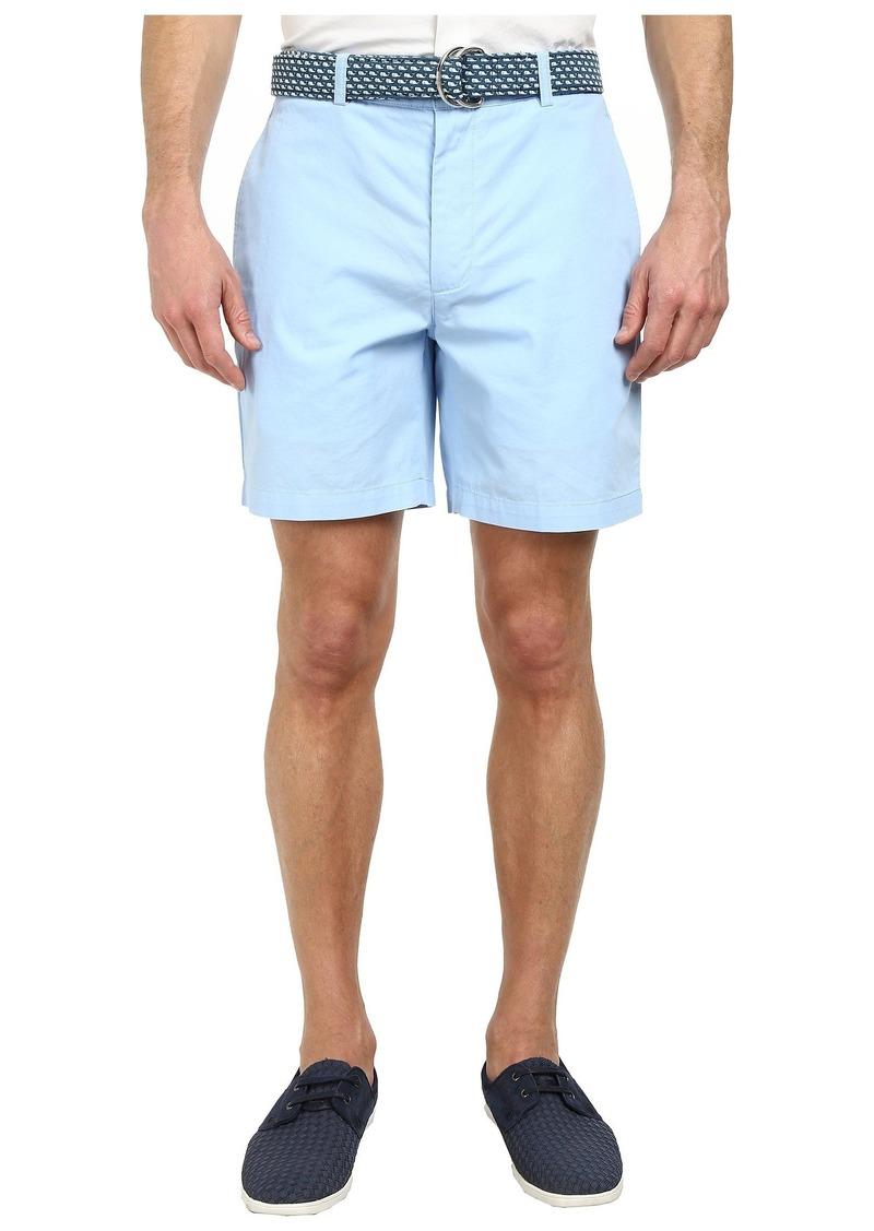 "Vineyard Vines Men's 7"" Summer Twill Club Shorts  36 X 7"