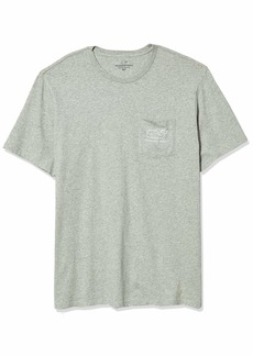vineyard vines Men's Big & Tall Short-Sleeve Whale Pocket T-Shrt