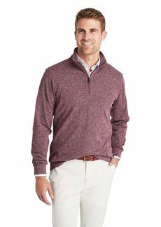 Vineyard Vines Men's Herringbone Quarter Zip Pullover