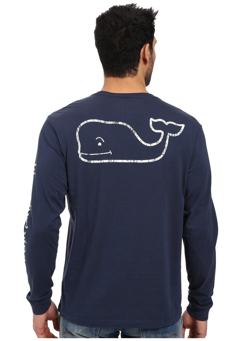 Vineyard Vines Men's Long Sleeve Vintage Whale Pocket Tee